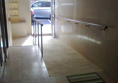 Exemplo de acessibilidade exterior