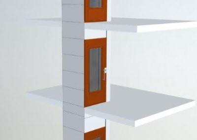 Exemplo de acessibilidade interior