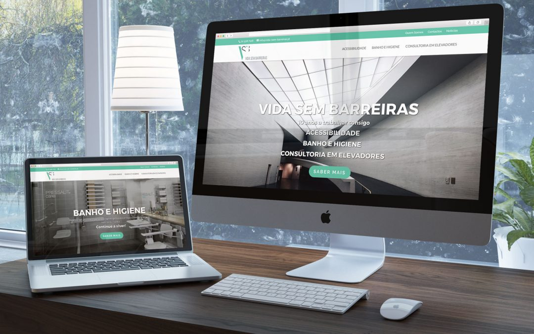 Novo Website Vida Sem Barreiras